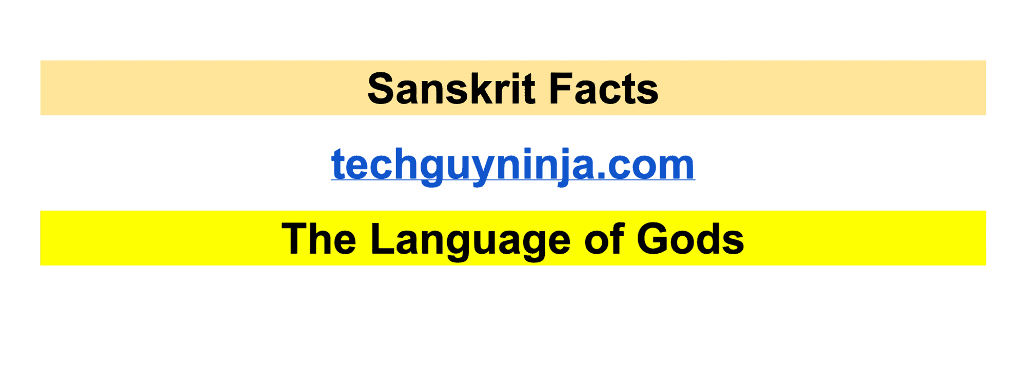 Sanskrti The Language of Gods