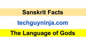 Sanskrit Facts The Language of Gods